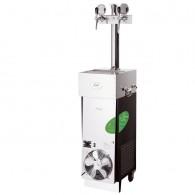 Chladenie na pivo CWP 200 Green Line mobilný, stojan 2xkohút
